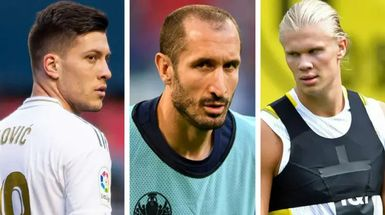 Haaland, Chiellini y más: 8 nombres en el último resumen de fichajes del Real Madrid con índices de probabilidad