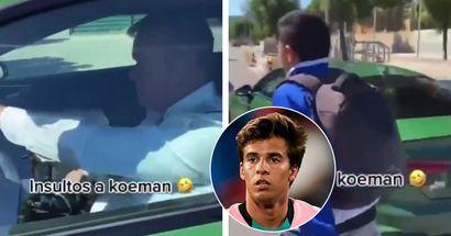 'Pon a Riqui, cab***': fans filmados insultando a Koeman en las calles