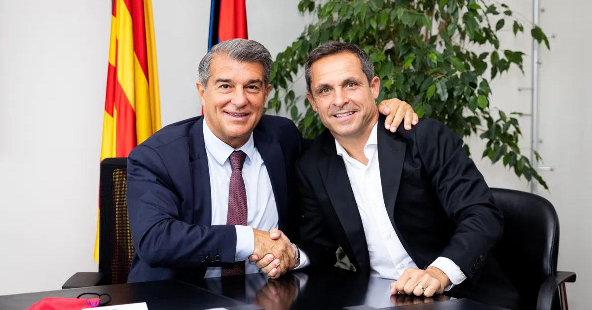OFFICIAL: Sergi Barjuan appointed Barca B coach