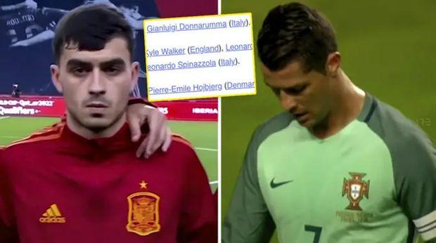 Con Pedri, sin Cristiano: la UEFA presenta el Equipo del Torneo de la Euro 2020