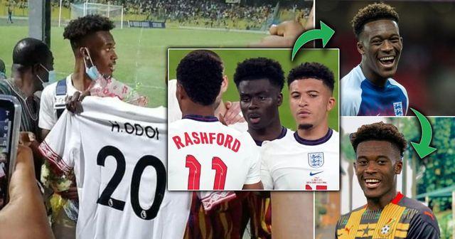 La star de Chelsea Hudson-Odoi aurait décidé de représenter le Ghana après des abus racistes contre 3 stars anglaises