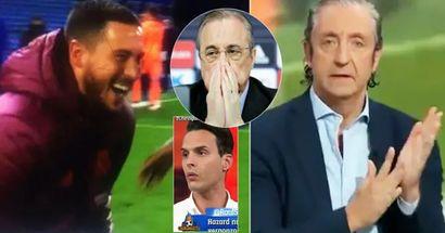 'No puede quedarse aquí'. Los españoles reaccionan a las imágenes de Eden Hazard riendo con los jugadores del Chelsea