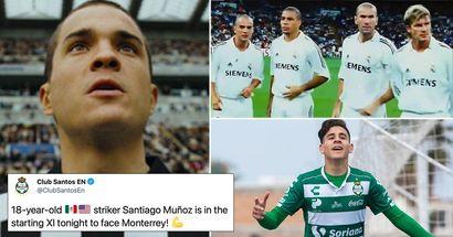 La versione reale di Santiago Munez emerge in Messico, il Newcastle flirta subito con lui su Twitter
