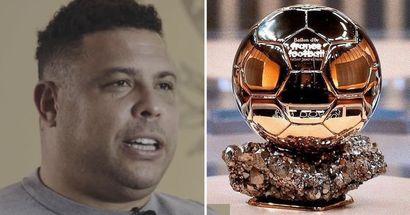 'Bloody good. A champion of everything': Ronaldo Nazario names his Ballon d'Or favourite