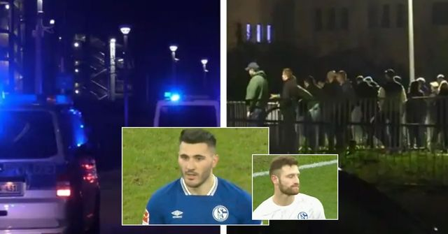 Madness in Germany: furious Schalke fans chase players down the street after relegation