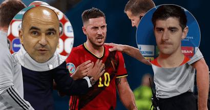 Le Sélectionneur de la Belgique et Thibaut Courtois font le point sur la blessure d'Eden Hazard