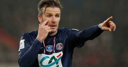David Beckham donated 100% of wages to charity during PSG spell