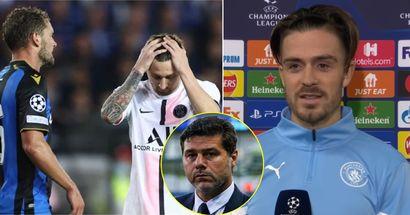 """""""Je suis allé vérifier le résultat"""": la star de Man City n'est pas surprise que le PSG n'ait pas pu battre le Club de Bruges"""