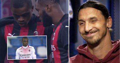 Zlatan Ibrahimovic spiega perché ha urlato contro un giovane del Milan per aver indossato i guanti al suo debutto
