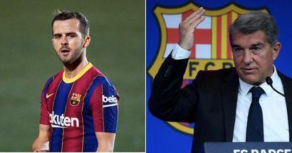برشلونة يتفاوض بشكل عاجل على رحيل بيانيتش (الموثوقية: 4 نجوم)
