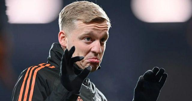 'In training he's scored some top goals I'd have been proud of': Solskjaer hoping to see Van de Beek's best towards end of season