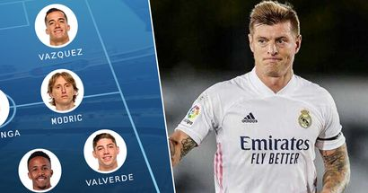 OFFICIAL: Real Madrid XI vs Espanyol revealed