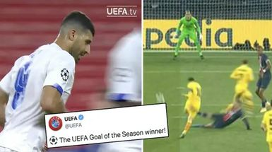 La UEFA nombra el mejor Gol de la temporada, ignora el golazo de Messi ante el PSG