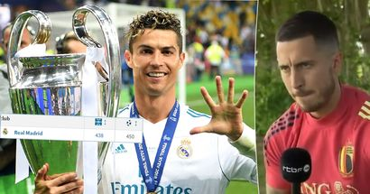 Hazard: 'I am not Cristiano Ronaldo. He scores 60-70 goals in a year, I score 60-70 goals in 7 or 8 years'