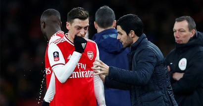 'Ozil is free to negotiate with other clubs': Arteta coy on whether German will leave this January