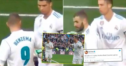 'Surprise surprise': What Cristiano Ronaldo did for Karim Benzema when he was booed by the Bernabeu fans