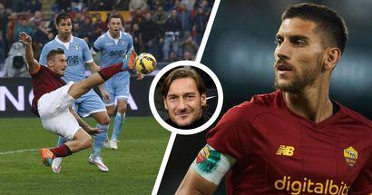 """""""Pellegrini ha qualcosa in più degli altri"""": Totti elogia il nuovo Capitano, e ricorda le sue emozioni nei Derby"""