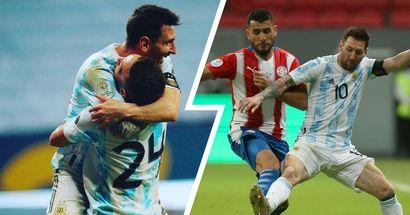 Messi se convierte en el jugador con más partidos con la Albiceleste en la victoria vs Paraguay