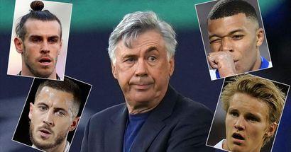 Las 5 formas que tiene Ancelotti para resolver el problema ofensivo del Madrid