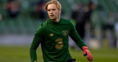 Caoimhin Kelleher impresses on Ireland debut with clean sheet