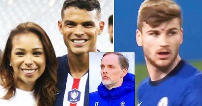 """La moglie di Thiago Silva contro Werner: 'In ogni squadra in cui gioca, c'è un attaccante che sbaglia gol!"""""""