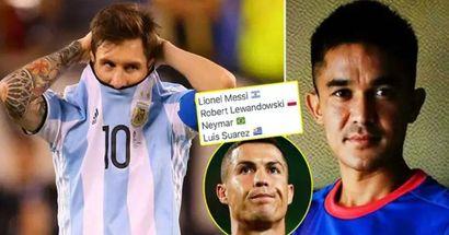 Un grand record international de Messi battu par un attaquant évalué à 200 000 €, Cristiano loin devant