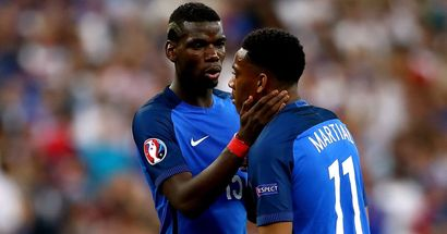 Pogba and Martial called up by France for upcoming International games