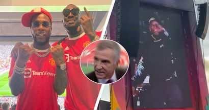 Paul Pogba spotted grooving at Burna Boy concert after Newcastle win - Man United fans can't help bring up Souness