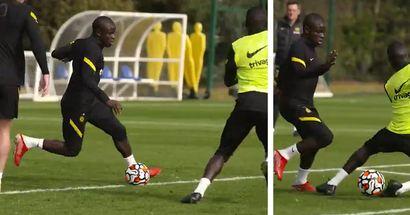 Ist das Messi oder doch Kante? N'Golo mit unglaublichen Skills im Chelsea-Training