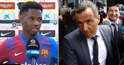 Revealed: What Ansu Fati said to Jorge Mendes as contract extension talks stalls again