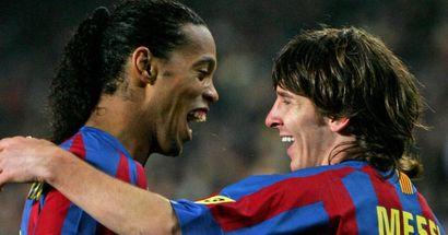 'Tuve la ocasión de vivir aquel momento': Ronaldinho tiene claro su partido favorito de Leo Messi