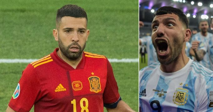 When Alba, Aguero & 7 other internationals return to Barcelona after vacations