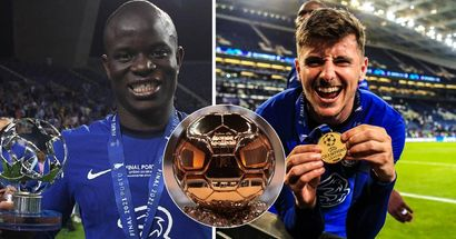 Kings of the world: No club has more Ballon d'Or nominations than Chelsea this year