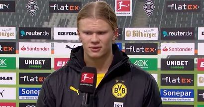 Erling Haaland all but confirms his intention to stay at Borussia Dortmund