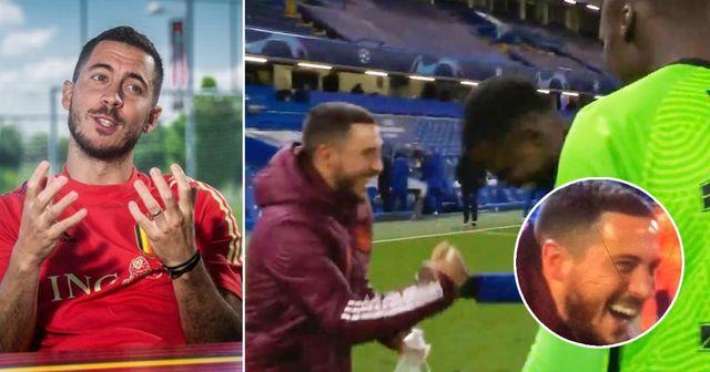 """""""Ce que Mendy et Zouma ont dit n'était même pas drôle"""": Hazard revient sur l'incident d'après-match contre Chelsea"""