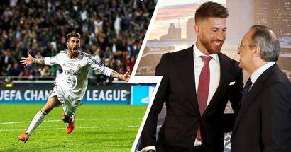 Florentino llamó a Ramos para recordarle el gol de la décima