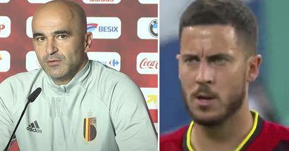 """""""Il ne profitait pas de la vie"""": Roberto Martinez révèle le moment qui a permis à Hazard de profiter à nouveau du football"""