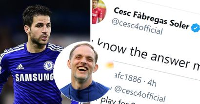 'You know it': Cesc Fabregas clowns Spurs on Twitter with brilliant reply to fan