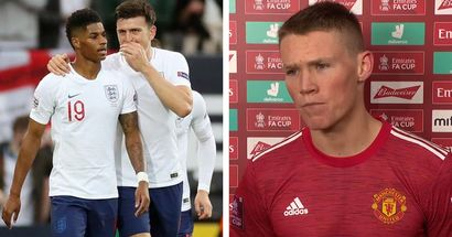'There has been a lot of banter and digs': McTominay explains his feelings on playing against United teammates in Euro 2020