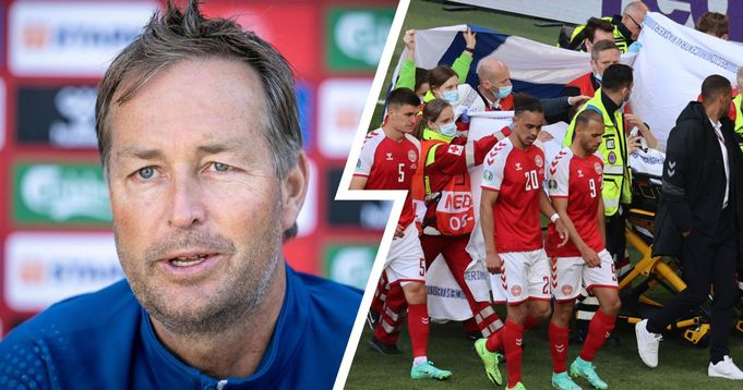 Denmark boss Hjulmand: 'Covid-19 allows you to postpone a match for 48 hours but a cardiac arrest doesn't. That's wrong.'