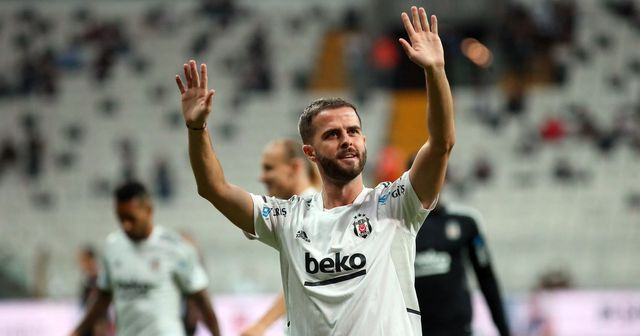 Back with a bang: Pjanic records assist on Besiktas debut