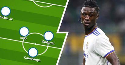 Team news for Real Madrid vs Mallorca, probable line-ups