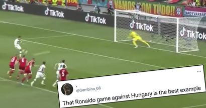 Neutral explains why Ronaldo's Hungary brace is hugely overrated, mentions Messi