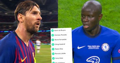 2021 Ballon d'Or odds: Mbappe and Kante ahead of Lionel Messi