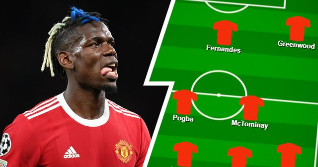 Pogba in midfield? Select your favourite Man United XI vs Leicester from 2 options