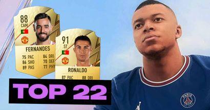 Svelti i giocatori più forti di FIFA 22 - Mbappe fuori dalla top-3 nonostante sia l'uomo immagine del gioco