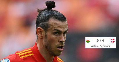 Bale devient le premier joueur madrilène à être éliminé de l'Euro 2020 alors que le Danemark a donné une leçon au Pays de Galles