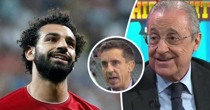 Gary Neville tells Salah to leave Liverpool: 'He's got to experience Real Madrid'