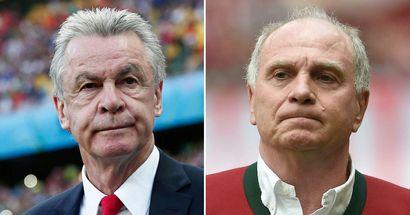 """""""Immer noch das Gesicht des FC Bayern"""": Hitzfeld gibt zu, dass er Uli Hoeneß als Bayern-Boss vermisst"""