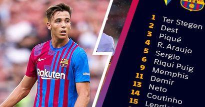 Toujours sans Alba et Pedri: le Barça dévoile son groupe de 20 joueurs pour affronter Cadiz